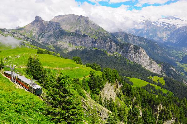 Historická horská železnica, Schynige