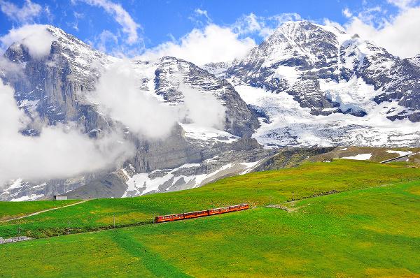 Jungfraujoch - najvyššie položená