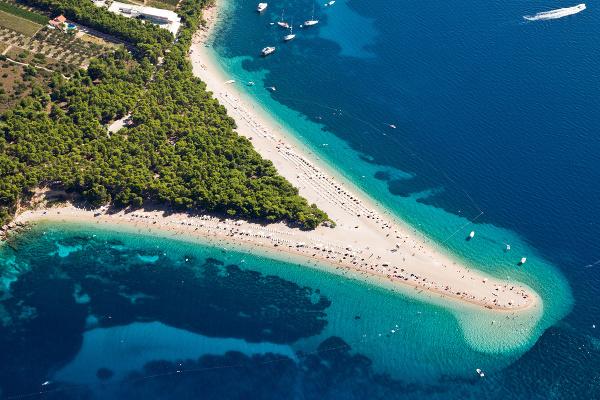 Zlatni rat, Chorvátsko