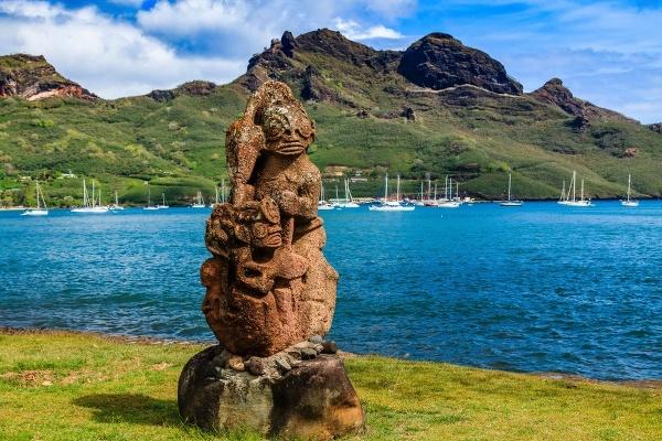 Anaho Bay, Francúzska Polynézia