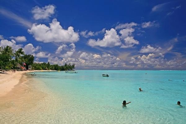 Matira Beach, Francúzska Polynézia