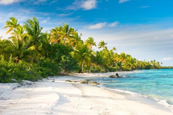 Fakarava Beach, Francúzska Polynézia