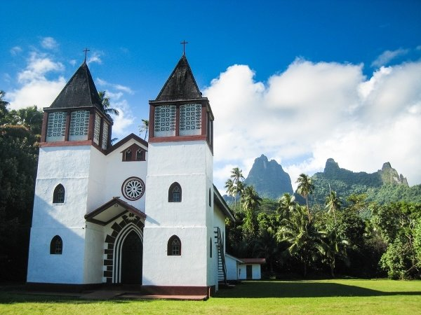 Moorea Church, Francúzska Polynézia