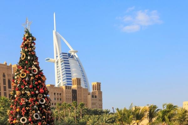 Vianoce v Dubaji