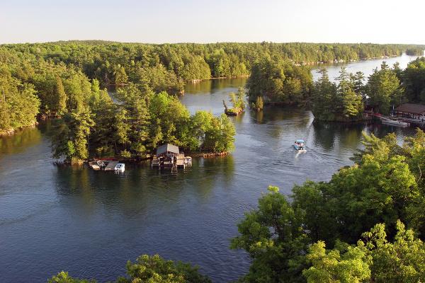 Park Tisíc ostrovov, USA