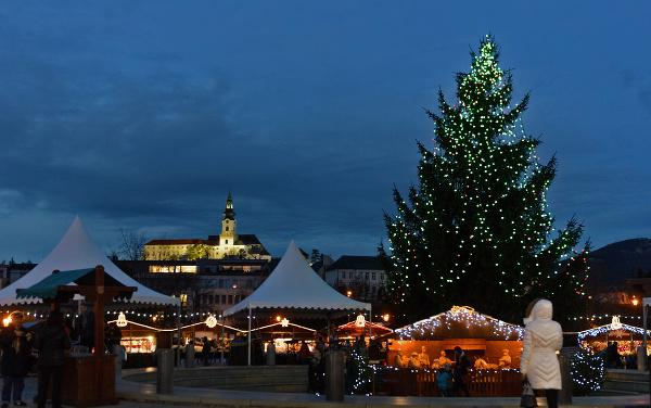Vianočné trhy v Nitre