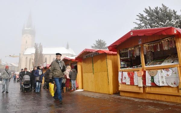 Vianočné trhy v Prešove