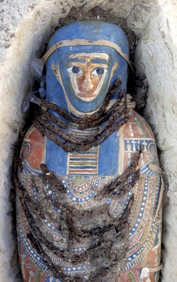 Egyptská múmia