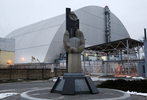 Pamätník obetiam černobyľskej tragédie
