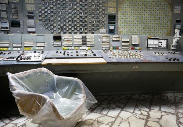 Prázdna kontrolná miestnosť 3.
