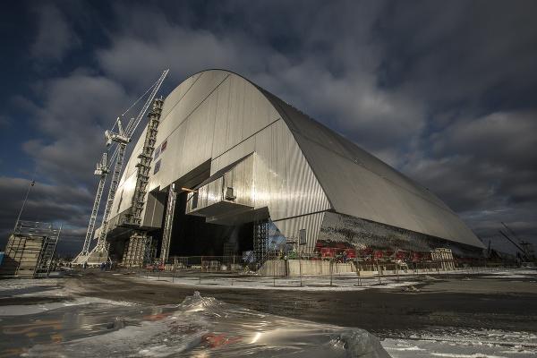 Nová oceľová kupola v