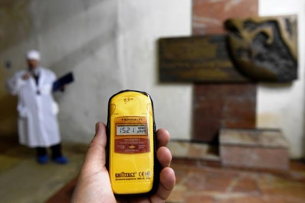 Pohľad na prístroj merajúci