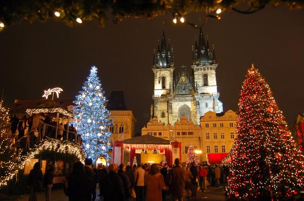 Vianočná atmosféra v Prahe