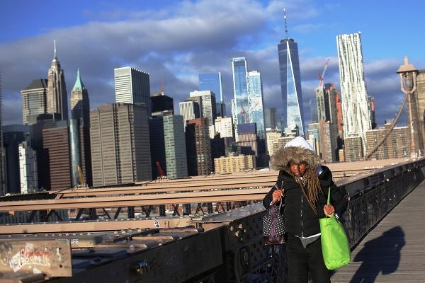 Brooklynský most, New York,