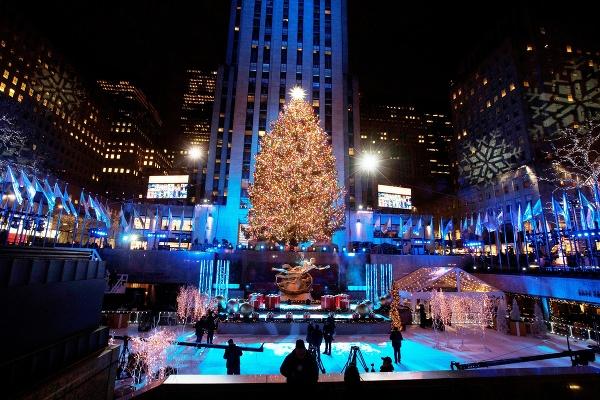 Vianoce v New Yorku,
