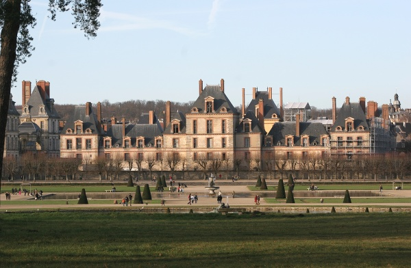 Zámok Fontainebleau, Francúzsko