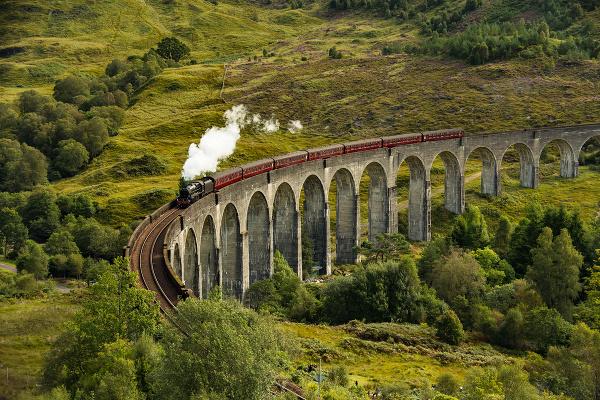 Glenfinnan Viaduct, Škótsko