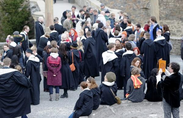Fanúšikovia čarodejníka Harryho Pottera
