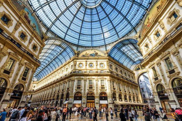 Galleria Vittorio Emanuele II.,