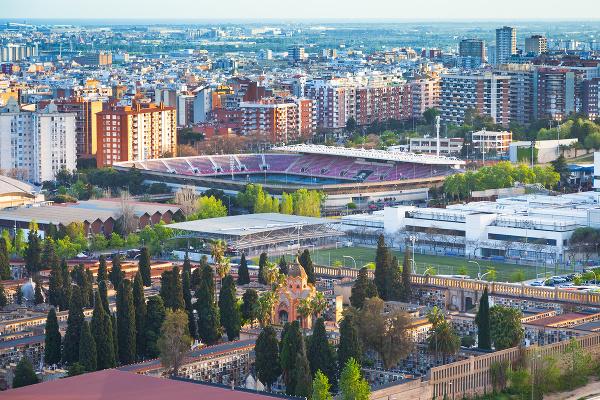 Štadión Camp Nou, Barcelona,