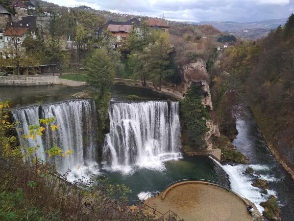 Vodopád Pliva, Bosna a