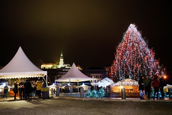 Vianoce v Nitre