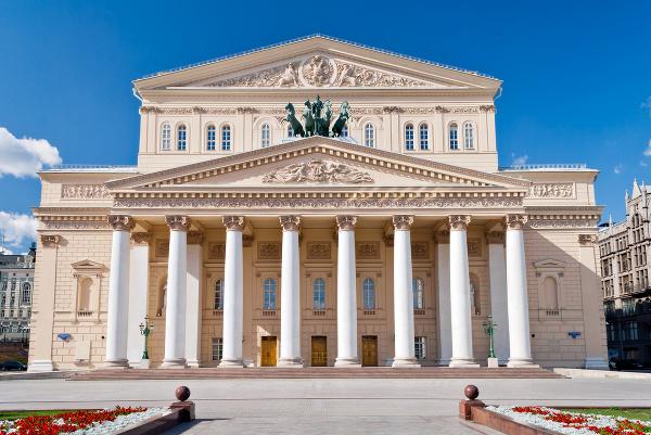 Boľšoj teatr, Moskva, Ruská