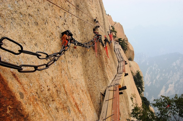 Mount Hua, Čína
