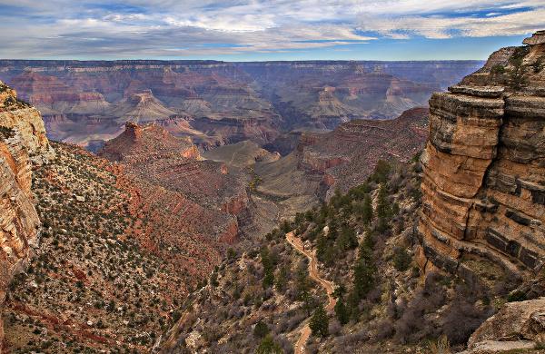 Bright Angel Trail, Arizona,