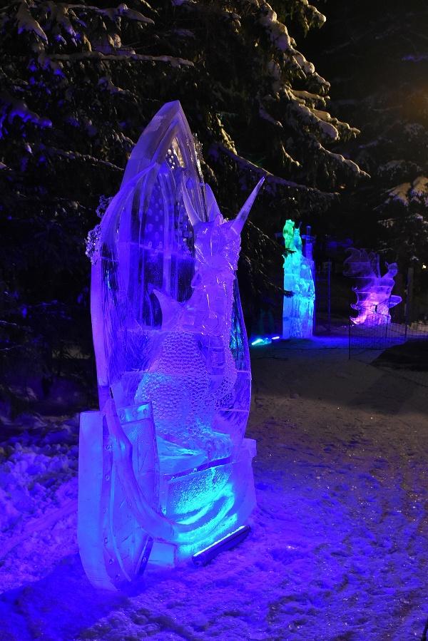 1. miesto: Ľadová socha