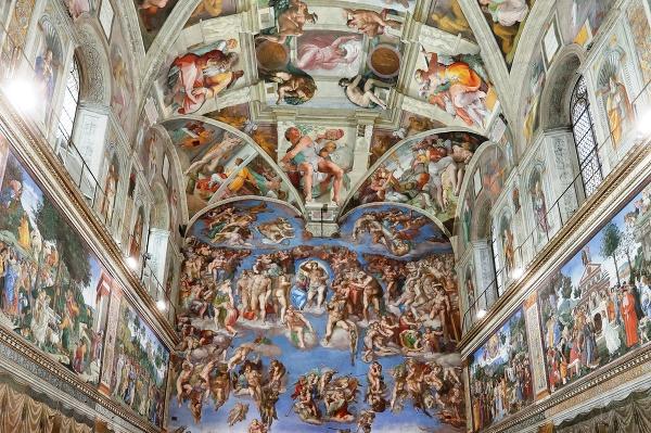 Sixtínska kaplnka, Vatikán