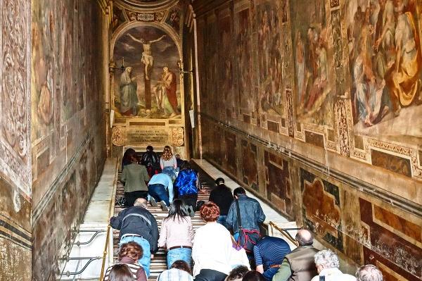 Sväté schody na námestí