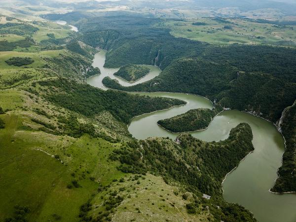 Kaňon rieky Uvac, Srbsko