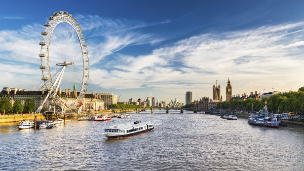 London Eye a rieka