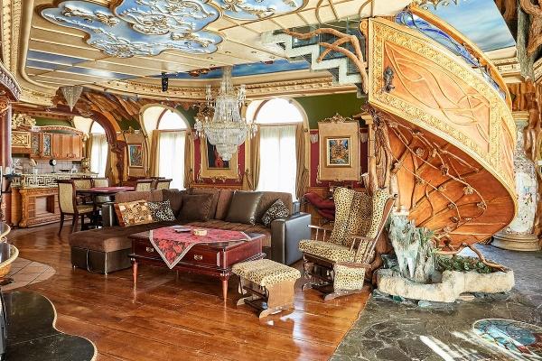 Apartmán inšpirovaný Gaudím a