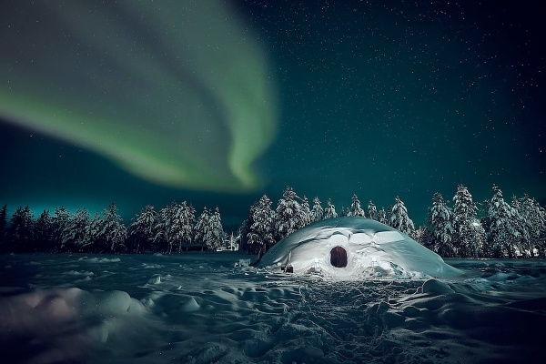 Iglu, Pelkosenniemi, Laponsko