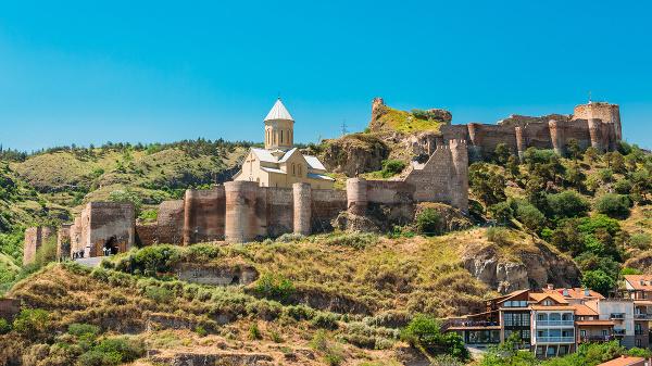 Pevnosť Narikala, Tbilisi, Gruzínsko