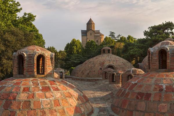 Kúpele, Tbilisi, Gruzínsko