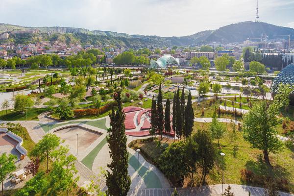 Park Rike, Tbilisi, Gruzínsko