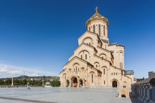Katedrála svätej trojice, Tbilisi,