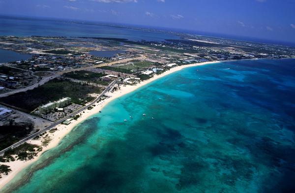 Sedemmíľová pláž, Kajmanské ostrovy