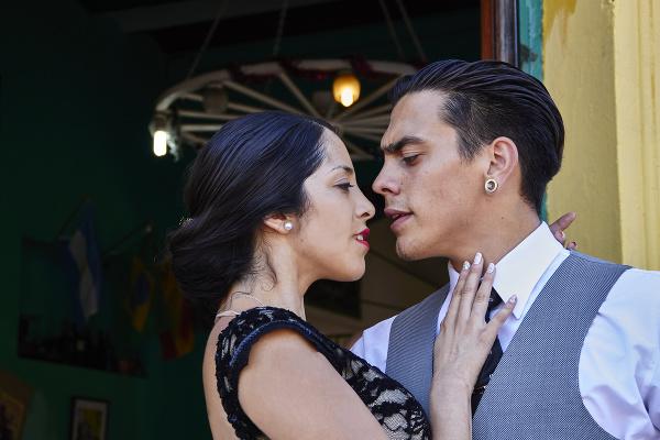 Vášnivé tango v Argentíne