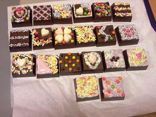 Japonské čokoládové bonbóny