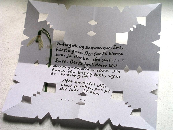Nórsky ľúbostný list Gaekkebrev