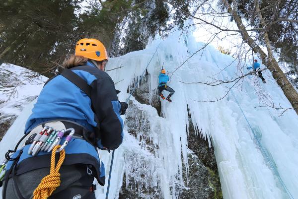 Ľadová stena na Skalke