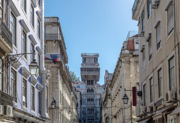 Vyhliadka Santa Justa, Lisabon,