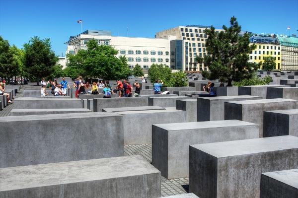 Pamätník holokaustu, Berlín, Nemecko