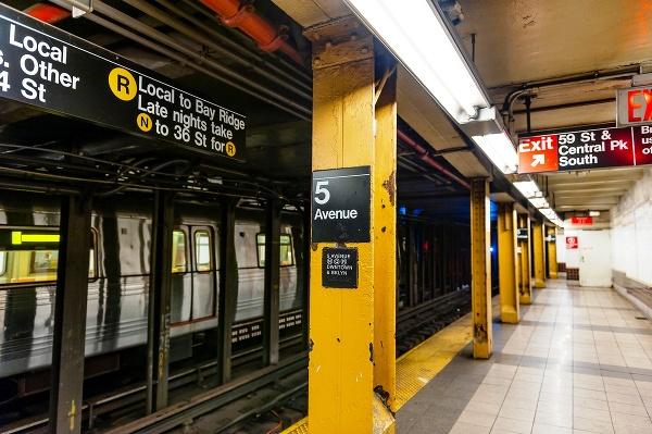 Stanica newyorského metra