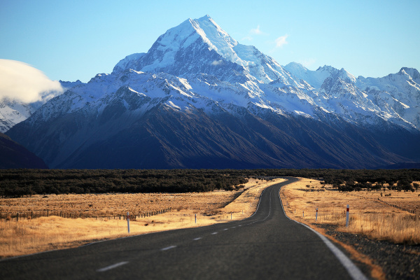 Mt Cook, Nový Zéland