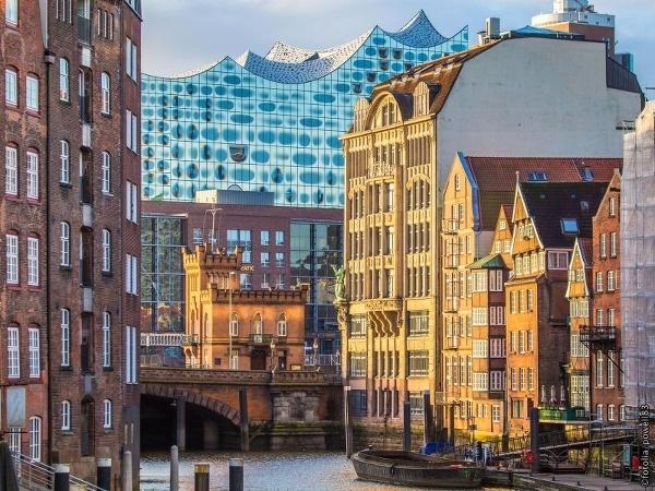Hamburg: Historická štvrť bývalých